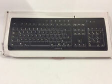 Cherry Stream 104 Key Keyboard Ultraslim Black USB 3.0 G85-23200EU-2