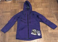 The North Face Mens Gore-tex Fuse Brigandine Steep Series Purple Jacket Sz M NWT