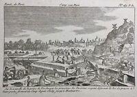 Rare Gravure Montmartre en 1792 Révolutions de Paris Révolution Française Verdun