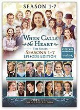 When Calls The Heart Series Seasons 1 2 3 4 5 6 & 7 DVD