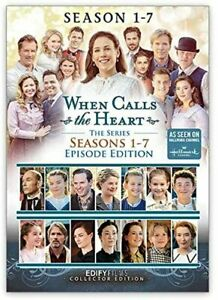 When Calls the Heart Series Seasons 1, 2, 3, 4, 5, 6 & 7 DVD New Sealed
