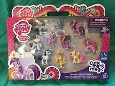 Nib My Little Pony Cutie Mark Magic 10 Figure Set Walmart Exclusive New D