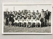 Newport football team (Skoll & Alder) plain back RP postcard Monmouthshire