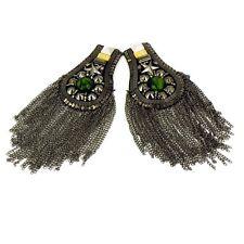 INCA Kuchi Afghan Banjara Tribal Epaulet Shoulder pair Board Badge Jacket AF3