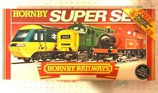 Hornby Railways HO Scale R696 READY TO RUN SUPER SET OB - Incomplete