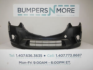 OEM 2013-2016 Mazda CX-5 Touring/Grand Touring/Sport Front Bumper Cover