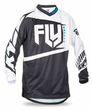 Jersey de motocross color principal blanco