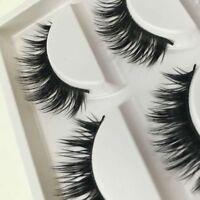 5 Pairs Makeup Hot Natural False Eyelashes Eye Long Extension Thick Lashes