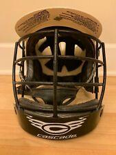 White Cascade Lacrosse Helmet Adult Small Medium