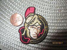 """Ottawa Senators 2 1/8"""" Patch 2007-Present Primary Logo Hockey"""