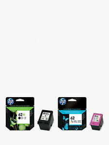 GENUINE HP 62 XL BLACK & HP 62 COLOUR INK 5541 5640 5642 5644 5740 7640 FASTPOST