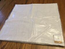 "Pottery Barn Faye Linen Textured Pillow Cover 20"" x 20"" White SOLD OUT Farmhouse"