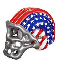 INLFATABLE AMERICAN FOOTBALL HELMET SPORT USA GRIDIRON ADULT SIZE