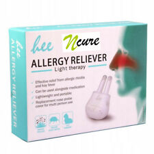 NCURE Hay Fever Nasal Allergy Relief Light Therapy Treatment Device LLLT