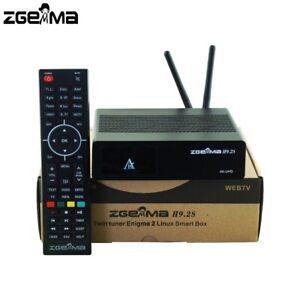 ZGEMMA H9.2S Linux E2 4K UHD DVB-S2X Satellite TV Reicever 2000 DMIP TWIN Tunner