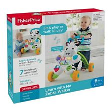 Fisher-Price Learn with Me Zebra Walker - DKH80