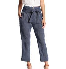 Womens Free People Striped Drawstring Pants Size 8