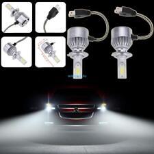 Für 55W 4600LM H7 LED Birnen Kfz Scheinwerfer Lichter 6000K Nachrüstsatz Set