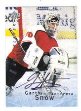 95-96 UD BAP Auto Garth Snow #S57 Autograph Flyers
