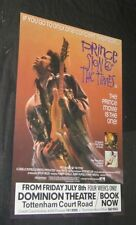 1987 PRINCE SIGN 'O' THE TIMES 20x30 ENGLISH DOUBLE CROWN Movie Poster ROLLED!!!