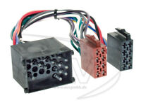BMW RUND PIN Radio Autoradio ISO Adapter 3er 5er 7er E46 E36 E39 Rover 25 45 75