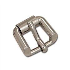 """Trenton Heel Bar Metal Buckle Nickel Plate 5/8"""" 11401-01 by Tandy Leather"""