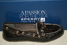 NEW! WOMENS SPERRY LAURA BROWN CROCODILE FLATS US SIZE 5 i16 a