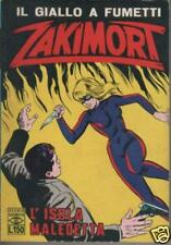 ZAKIMORT N.41 L' ISOLA MALEDETTA editrice c.e.a. cea 1968