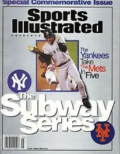 Special Sports Illustrated NY Mets Yankess Subway Series issue 2000 NOS New mint
