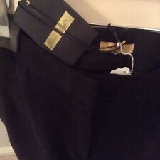 Ladies' woollen Erika trousers by Peter Jensen.Full length,straight leg.Size14