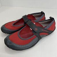 Merrell Womens Size 6.5 Vibram Barefoot Pure Glove Chili Red Shoes Mary Jane
