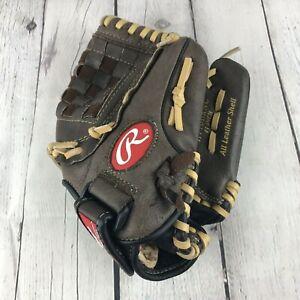 "Rawlings Youth Baseball Gold Glove Highlight Series H110BRNC Softball 11"" RHT"