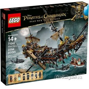 NEW Lego Pirates of the Caribbean 71042 Silent Mary - Factory Sealed Brand NEW