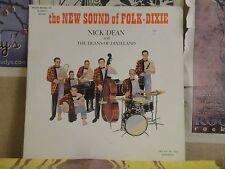 NICK DEAN & DEANS OF DIXIELAND, NEW SOUND OF FOLK DIXIE - LP RLP 10064
