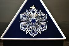Mint Condition 1999 Swarovski Annual Snowflake Ornament in Box