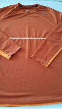 Hind Mens Xlarge Xl running athletic top Shirt Orange long sleeve 24/7 365
