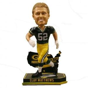 Clay Matthews Green Bay Packers Limited Edition Nation Bobblehead NFL