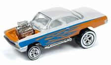 Johnny Lightning 1/64 1962 Chevy Bel Air Bubbletop Orange Die-Cast Car Jlsf012