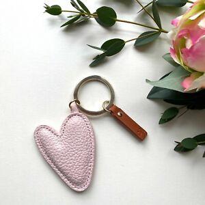 Super Pretty Caroline Gardner Pastel Pink Heart Keyring