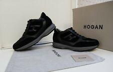 SCARPE HOGAN N.42,5 (8,5) ORIGINALI INTERACTIVE UOMO Men SIZE shoes NERE ITALY
