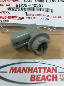 13-16 RAV4 TAIL LAMP LIGHT TAILLIGHT BULB SOCKET 81275-12501 GENUINE TOYOTA