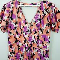 [ KAREN WALKER ] Hi There Womens Print Dress | Size AU 10