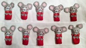 REPLACEMENT Replica MOUSE Avon Countdown to Christmas Advent Calendar- Handmade