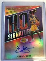 Eddie Jones 2018-19 Panini Hoops HOT SIGNATURES Autograph Insert Card