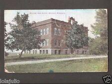 Vtg Postcard Welcome High School Welcome Minn MN Minnesota 1908