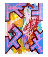 CORBELLIC ART, EMOTIONAL DESIGN, ABSTRACT CANVAS, MUSEUM ORIGINAL, EXPRESSION NR