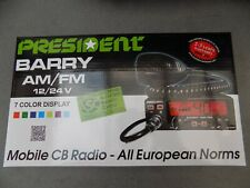 cb radio 27mhz PRESIDENT BARRY   Transceiver 40 cx AM-FM