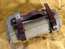Custom Hermann Oak Leather Bushcraft Blanket Harness