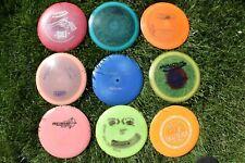 USED 9 disc golf lot Innova premium Star Champion Blizzard Gstar