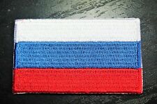 RUSSIA Russian Country Flag Embroidered PATCH Badge *NEW*